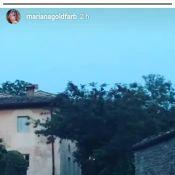 Mariana Goldfarb, na Itália com Cauã Reymond, mostra jantar romântico: 'Lindo'