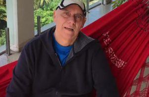 Marcelo Rezende, após abandonar quimioterapia, afirma: 'Não tenho medo'. Vídeo!