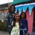 Gloria Maria teve a companhia das filhas Maria e Laura no aniversário de 4 anos de Títi, filha de Bruno Gagliasso e Giovanna Ewbank