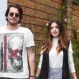 Giovanna Lancellotti teve a companhia do namorado, Gian Luca, ao aniversário de 4 anos de Títi, filha de Bruno Gagliasso e Giovanna Ewbank, irmã dele