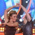 Jade Barbosa elogiou Lucas Teodoro, seu coreógrafo no 'Dancing Brasil', da RecordTV, em entrevista ao colunista Leo Dias, do jornal 'O Dia', neste domingo, 25 de junho de 2017: 'Nós combinamos muito em tudo, e principalmente respeitamos um ao outro, dentro e fora do programa'