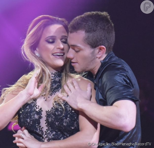 Jade Barbosa se derrete para o namorado, Lucas Teodoro, seu coreógrafo, do 'Dancing Brasil': 'Meu porto seguro'