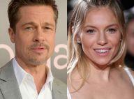 Brad Pitt é visto aos beijos com Sienna Miller, apontada como affair: 'Íntimos'