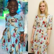 Títi, filha de Gagliasso e Ewbank, repete look Dolce & Gabbana de Elle Fanning