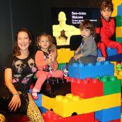 Filhos de Juliana Paes, Luana Piovani e Danielle Winits curtem exposição no Rio