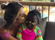 Giovanna Ewbank se emociona ao ver filha, Títi, ao lado de Gilberto Gil: 'Amor'