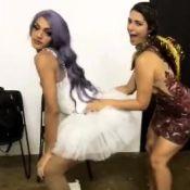 Ex-BBB Vivian dança com Pabllo Vittar em festa junina: 'Lacradora'. Vídeo!
