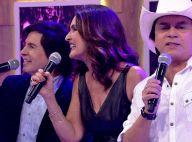 Fátima Bernardes canta 'Evidências', erra letra e agita web: 'Mal, mas com alma'