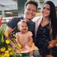 Thais Fersoza, grávida, contou que evitou andador para Melinda, de 10 meses