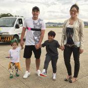 Wesley Safadão, distante da família por shows, lamenta: '2 semanas longe'