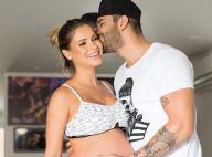 Gusttavo Lima chorou ao ver Andressa Suita dar à luz Gabriel: 'Extravasei'