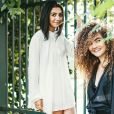 Ana Clara Caetano e Vitória Falcão, do duo Anavitória, são naturais de Tocantins e lançaram o seu primeiro EP em 2015