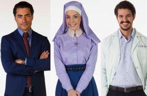 Cecília viverá triângulo amoroso com Gustavo e Doutor André em 'Carinha de Anjo'