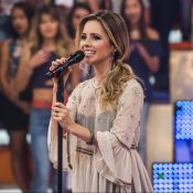 Sandy faz 5 shows por mês e cobra cachê de R$ 100 mil por cada apresentação