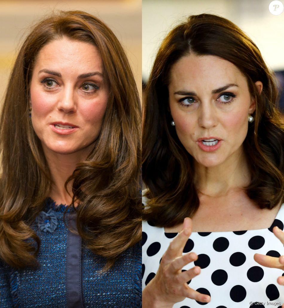 Antes e depois de Kate Middleton: a duquesa de Cambridge deu um novo toque ao visual