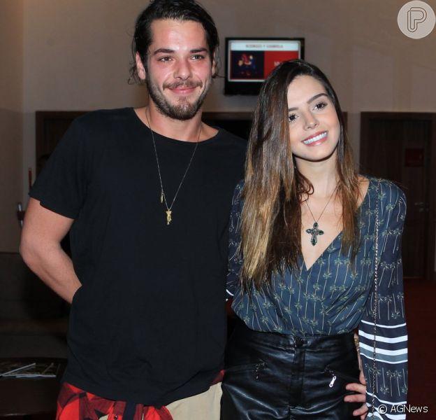 Giovanna Lancellotti passou a ter vida mais saudável depois de começar namoro com Gian Luca Ewbank