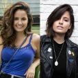 Antes e depois de Amanda de Godoi: a atriz deu uma repaginada no visual e adotou o cabelo curto