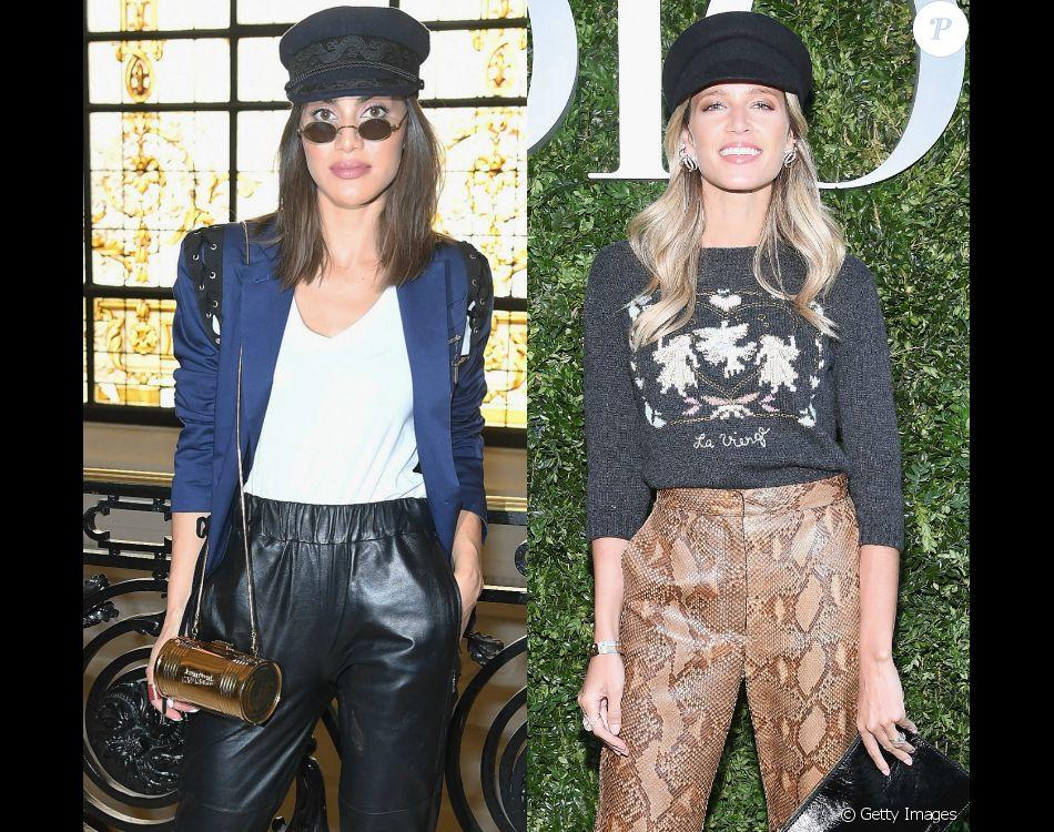 Batalha de looks: veja as produções usadas por Camila Coelho e Helena Bordon na semana de moda de Paris e eleja o melhor estilo!
