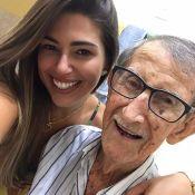 Ex-BBB Vivian lamenta morte do avô de 98 anos: 'Impossível explicar a dor'