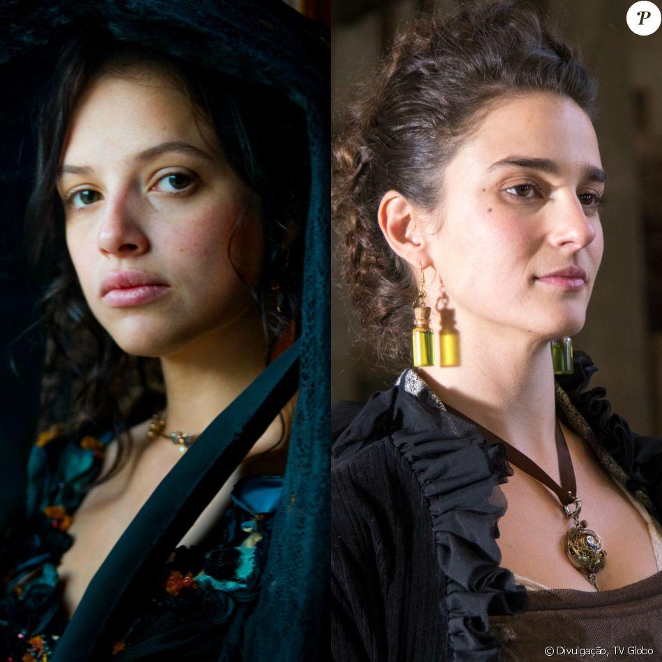 Domitila (Agatha Moreira) se livra de Isaura (Priscila Steinman), nova amante de Pedro (Caio Castro), trancando-a em uma caixa e a despachando em navio, nos próximos capítulos da novela 'Novo Mundo'