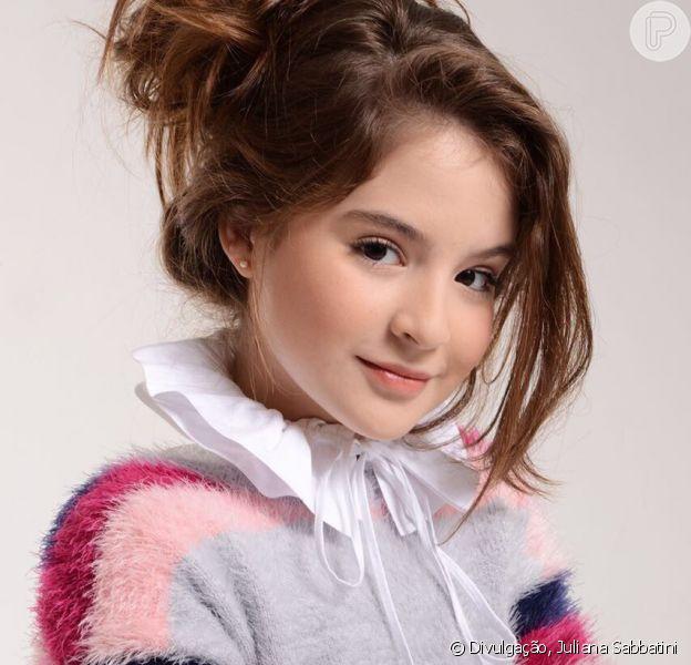 Sophia Valverde será a protagonista da nova novela infantil do SBT, 'As Aventuras de Poliana'