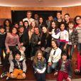 O SBT reuniu na última segunda-feira (03) o elenco de 'As Aventuras de Poliana', nova novela infantil da emissorsa que terá como protagonista Sophia Valverde, no papel de Poliana
