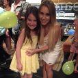 Sophia Valverde publicou em seu Instagram foto com Carla Diaz, atriz que viveu Maria na primeira versão brasileira de 'Chiquititas'. Sophia deu vida à mesma personagem na versão de 2013 da novela
