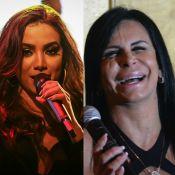 Anitta procurou Gretchen após vê-la em clipe de Katy Perry: 'Está feliz por mim'