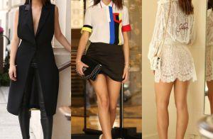 Confira os looks usados por Bruna Marquezine na semana de moda de Paris!