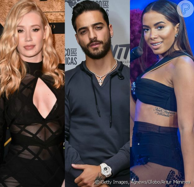 Iggy Azalea negou que Maluma substituirá Anitta em remix da música 'Switch' nesta quinta-feira, 6 de julho de 2017