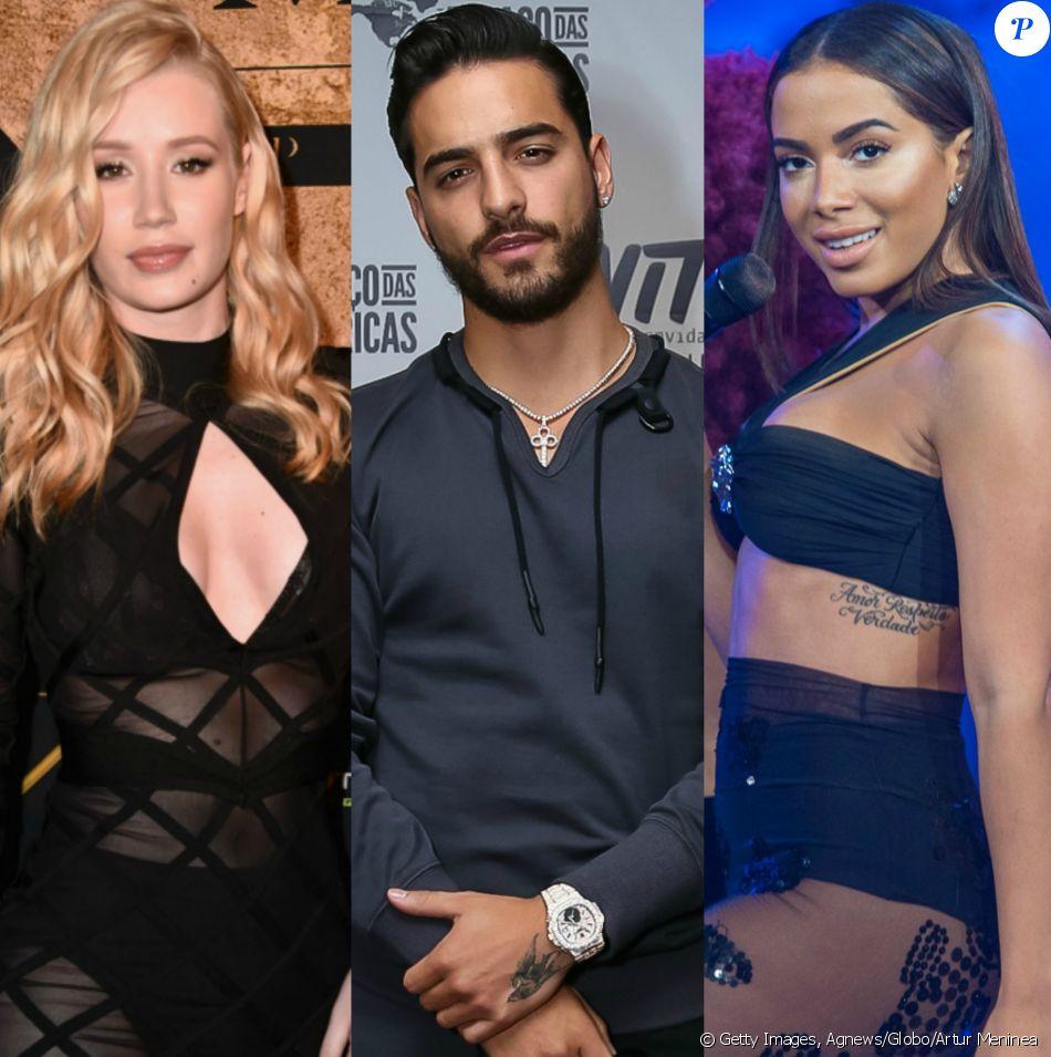 Iggy Azalea negou que Maluma substituirá Anitta em remix da música 'Switch&#039 nesta quinta-feira 6 de julho de 2017