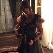 Agatha Moreira dubla canção de Marília Mendonça nos bastidores de novela. Vídeo!