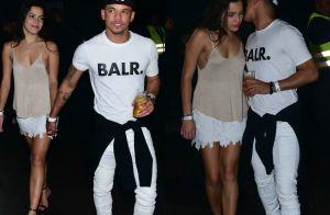 Ex-BBB Emilly curte show de mãos dadas com Jota Amancio, amigo de Neymar. Fotos!