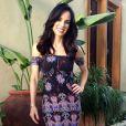 Ana Furtado também causou na web quando surgiu com o cabelo mais escuro no programa 'É de Casa'