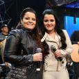 Maiara e Maraísa passaram por susto durante show em Itaguaí quando o telão do local pegou fogo
