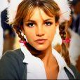 A ex-BBB Vivian usou o figurino de Britney Spears no clipe de '...Baby One More Time'