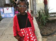 Filha de Giovanna Ewbank, Títi se fantasia e posa séria: 'Minnie não sorri'