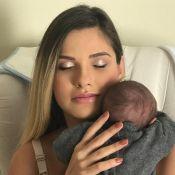 Andressa Suita posa com filho, Gabriel, e se declara: 'O melhor de mim'