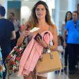 Mariana Goldfarb afirma não ter delírios de consumo. 'Não com roupa', explicou