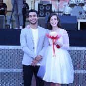 Sophia Abrahão e Sergio Malheiros se casam em festa junina solidária, no Rio