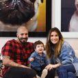 Ex-BBBs Aline Gotschalg e Fernando Medeiros estão juntos desde o 'Big Brother Brasil'