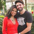 'Eu tô me sentindo a mulher mais iluminada do mundo!', garantiu Aline Dias