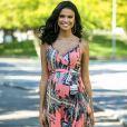 Aline Dias, aos seis meses de gravidez, contou que planeja ter parto normal