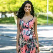 Aline Dias, grávida, faz pilates para ter parto normal: 'Preparar o corpo'