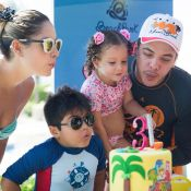 Wesley Safadão e Thyane Dantas festejam 3 anos da filha, Ysis, em parque. Fotos!