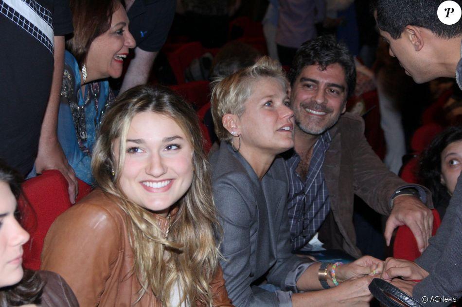 Xuxa critou empresa para a filha, Sasha Meneghel, cuidar da carreira de estilista