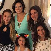 Larissa Manoela descobre ser vizinha de Rodrigo Faro na Disney: 'Nem sabíamos'