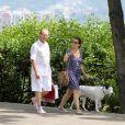 O último flagra do casal foi feito no  30 de março, quando José e Claudia passeavam com o cachorro de estimaçãi pela Lagoa Rodrigo de Freitas, na Zona Sul do Rio de Janeiro