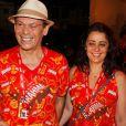 Unidos, José Wilker e Claudia Nascimento costumavamse divertir juntos. Os dois passaram o carnaval de 2011 no camarote da Brahma, na Marquês de Sapucaí