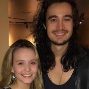 Larissa Manoela assiste show de Tiago Iorc em Orlando: 'Amei te ver'